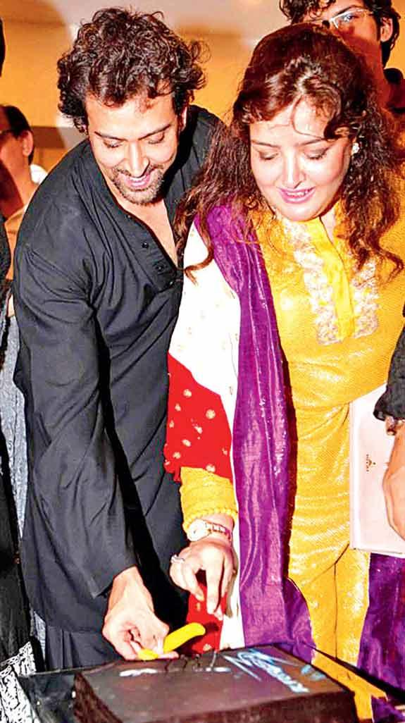 Sunaina and Hrithik