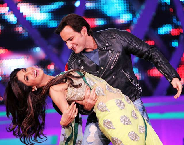 Saif and Shilpa at Nach baliye 6