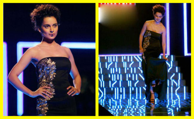 Kangana Ranaut fall on ramp