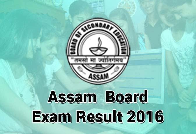 Assam AHSEC HS 12th Class Results 2016 declared