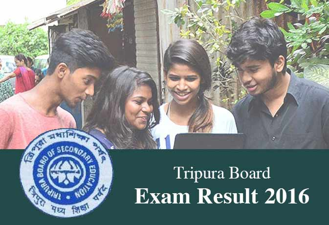 Tripura TBSE Madhyamik 10th Results 2016 declared check on at tripuraresults.nic.in, www.tbse.in