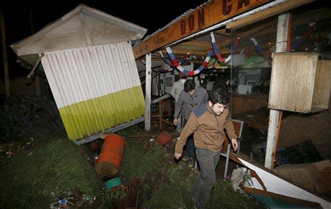 Chile erathquake