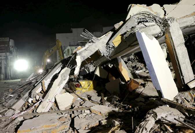 इक्वाडोर में भयंकर भूकंप से 250 से ऊपर की मौत हजारों घायल