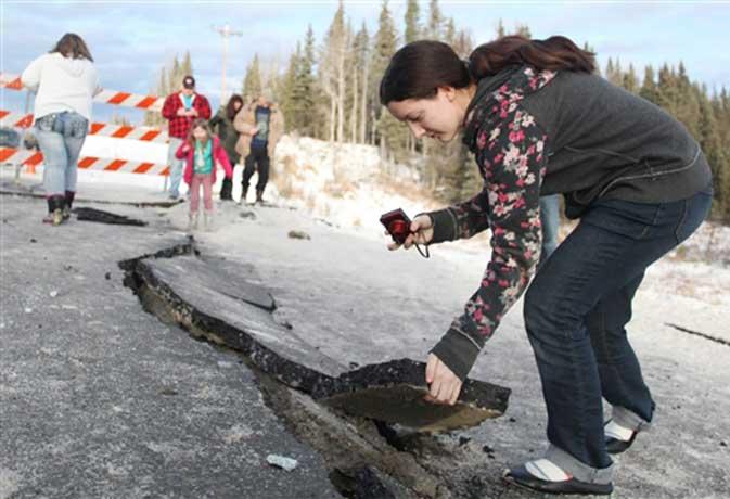 7.1 मैग्नीट्यूट के भूकंप से सहमा अलास्का