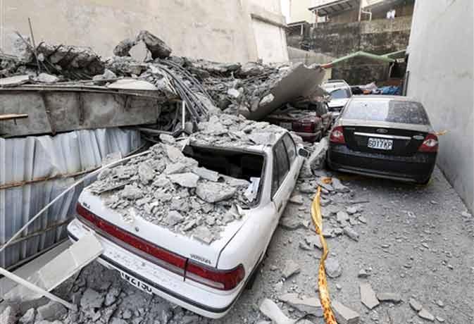 ताइवान में भूकंप से 3 की मौत