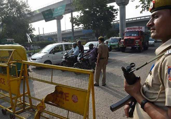 दिल्ली के चोर चुरा ले गए आइटीबीपी आईजी की कार