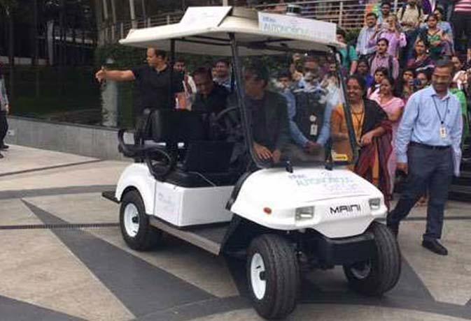 गूगल वालों सावधान! इंडिया ने भी बना ली ड्राइवरलेस गाड़ी, दिखती है ऐसी