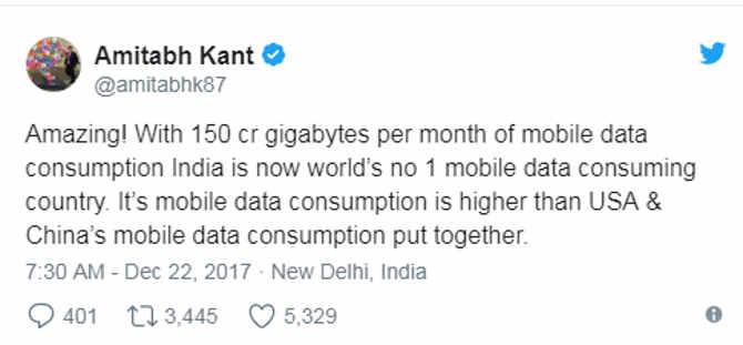 india में 3 साल में 23 गुना बढ़ी इंटरनेट डेटा की खपत,भूख अभी बाकी है मेरे दोस्त!