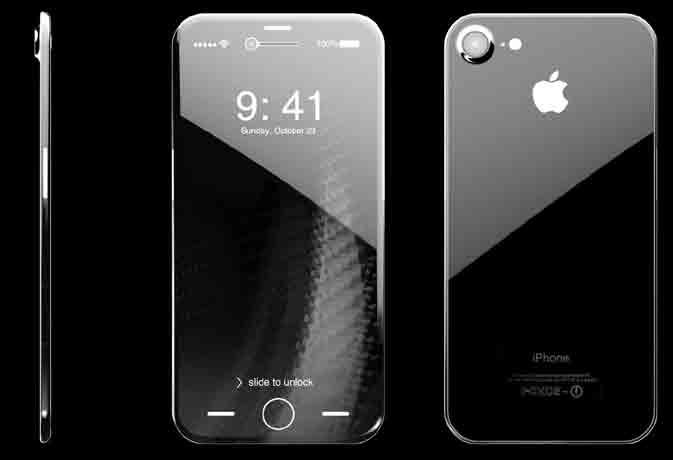 आईफोन 8 की तस्वीर हुई लीक, देखें ऐसा होगा फोन का डिस्प्ले