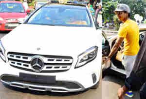 तस्वीरें : ईशान खट्टर ने धड़क की सक्सेज के बाद ली नई कार, ड्राइव पर यहां जाते हुए स्पॉट