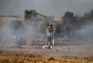 इजराइली सैनिक ने फिलिस्तीनी पत्थरबाज को गोलियों से भूना