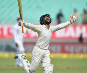 9 साल से क्रिकेट खेल रहे रवींद्र जडेजा ने लगाया पहला इंटरनेशनल शतक