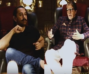नशे में दिखने के लिए अमिताभ-आमिर ने किया ये काम