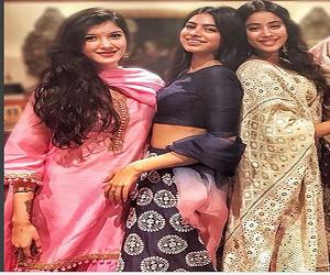 बहन जाह्नवी के बाद बॉलीवुड में डेब्यू करेंगी शनाया कपूर!