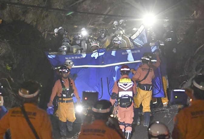 जापान में पिछले हफ्ते आए भूकंप से अब तक 44 लोगों की मौत, 660 घायल