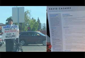 बेरोजगार युवक ने सड़क पर बांटना शुरू कर दिया रिज्यूम, गूगल सहित 200 कंपनियों से मिले जॉब ऑफर