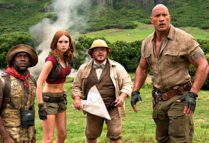 Jumanji: Welcome to the Jungle movie review, बस नाम ही है 'जुमानजी'
