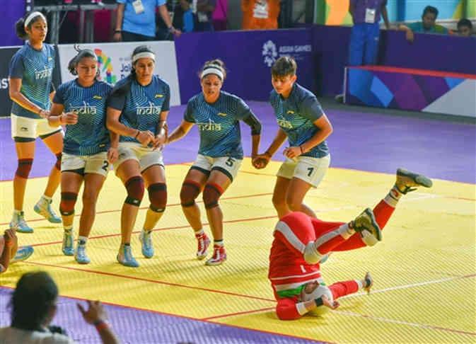 कबड्डी में भारतीय महिलाओं ने जीता सिल्वर मेडल, एशियन गेम्स में अब भारत के पास 24 पदक