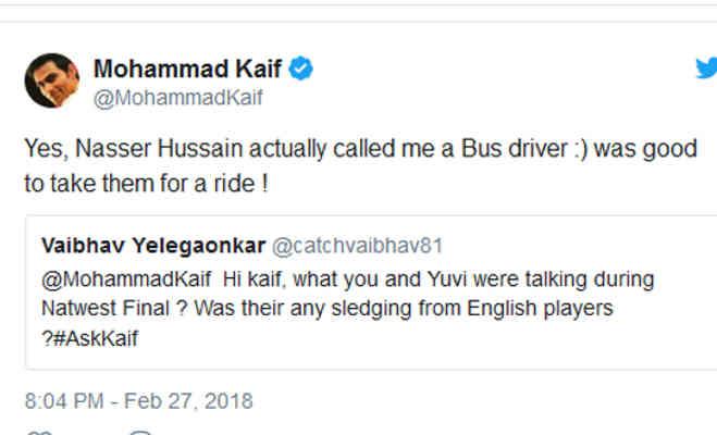 जब इंग्लैंड के इस खिलाड़ी ने मोहम्मद कैफ को कह दिया था बस ड्राइवर