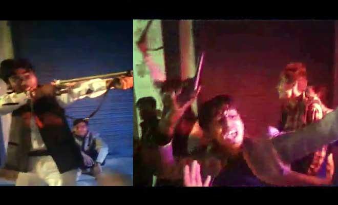 कानपुर: बदमाशों ने फेसबुक पर किया तमंचे पे डिस्को,वीडियो वायरल होने पर पुलिस ने किया ये काम
