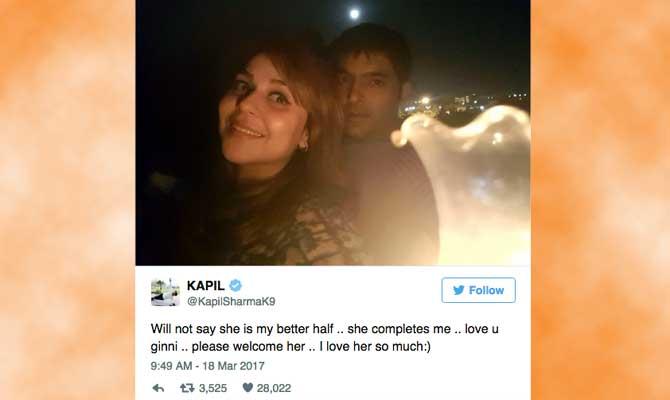 कपिल शर्मा करेंगे इस अंजान हसीना से शादी,कौन हैं गिन्नी,देखें तस्वीरों में