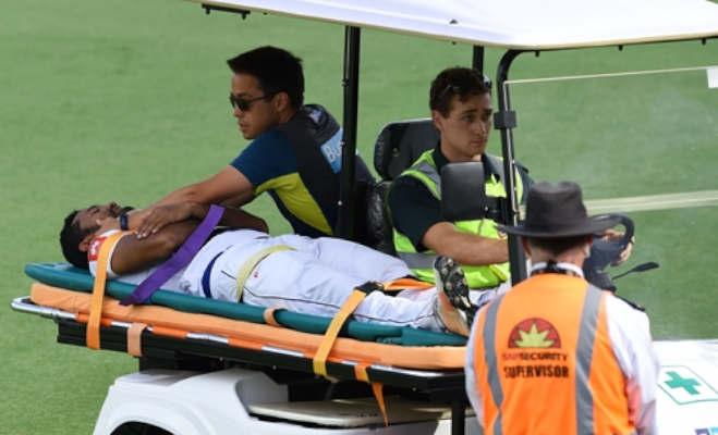 क्रिकेट मैदान पर बड़ा हादसा : आॅस्ट्रेलियार्इ गेंदबाज की बाउंसर ने बल्लेबाज को पहुंचाया अस्पताल,142 किमी/घं थी गेंद की स्पीड