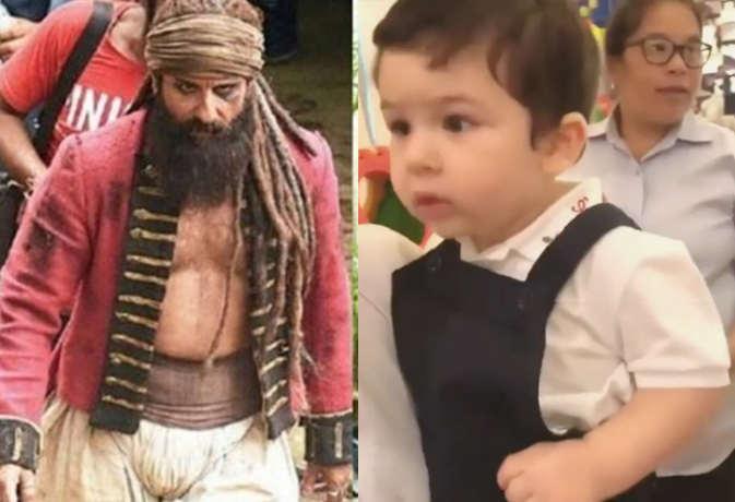 तस्वीरें : इसलिए सैफ अली खान को लेना पडा़ ये खुंखार लुक, तैमूर भी देख कर गए डर