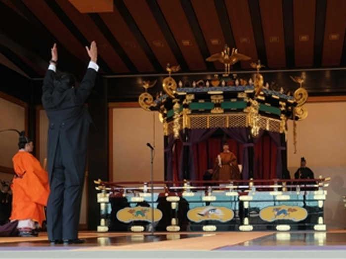जापान के नए सम्राट नारुहितो का हुआ राज्याभिषेक,समारोह में राष्ट्रपति कोविंद समेत दुनियाभर के कई बड़े लोग हुए शामिल