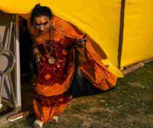 प्रयागराज कुंभ 2019 : कुंभ के आखिर तक दिखेगा किन्नर अखाड़ा का जलवा