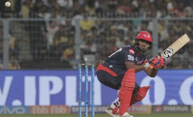 ipl 2018 : 15 ओवर भी नहीं खेल पाई दिल्ली,केकेआर ने 71 रन से हराया