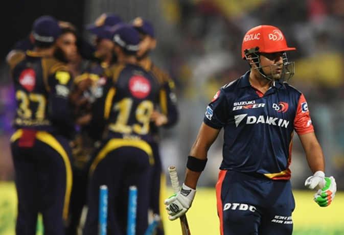 IPL 2018 : 15 ओवर भी नहीं खेल पाई दिल्ली, केकेआर ने 71 रन से हराया