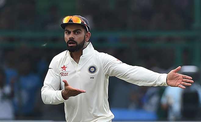 हैदराबाद टेस्ट में विराट से हुई गलतियां,लोगों को याद आए धोनी