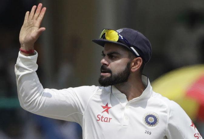 लगातार 5 टेस्ट सीरीज जीतने वाले पहले कप्तान बने कोहली