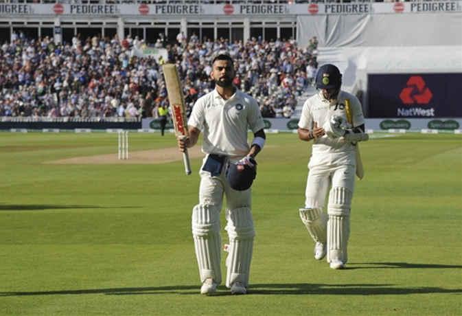 शतकवीर कोहली को आउट करने के लिए फेंकनी पड़ी 225 गेंदें, दूसरे दिन मैच का ऐसा रहा हाल