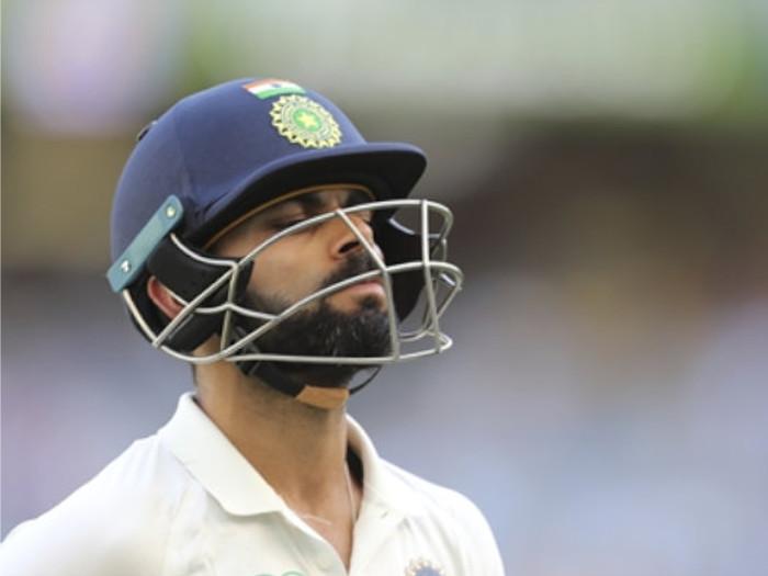 india vs bangladesh 1st test day 2: टेस्ट में 10वीं बार डक आउट हुए कोहली,इस गेंदबाज ने पहली बार विराट को शून्य पर भेजा था पवेलियन