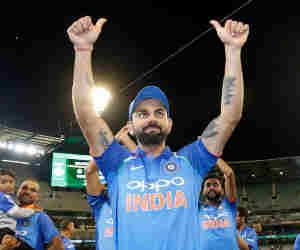 दुनिया के 132 खिलाड़ियों को पछाड़ विराट कोहली ने जीते आर्इसीसी के ये तीनों पुरस्कार
