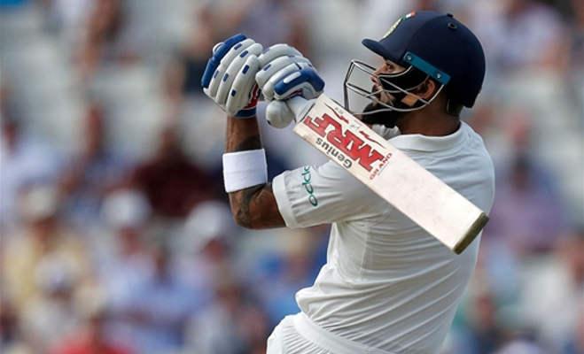 इंग्लैंड में पिछली 10 पारियों से ज्यादा रन कोहली ने अकेले एजबेस्टन टेस्ट में बना दिए