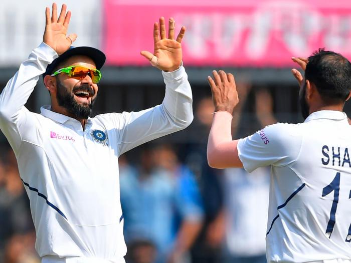 india vs bangladesh 1st test: इंदौर टेस्ट में पोंटिंग का रिकॉर्ड तोड़ने से चूके विराट कोहली