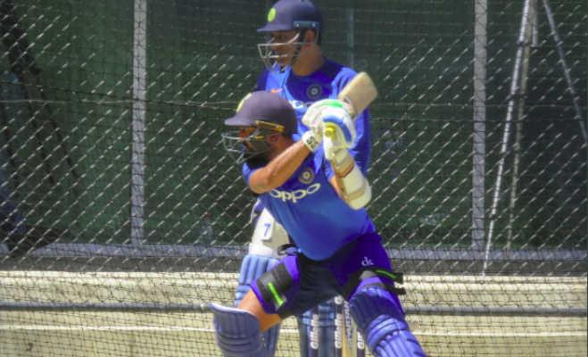दूसरे वनडे के लिए कोहली कर रहे एेसी जबरदस्त तैयारी,शायद ही कंगारु कर पाएं उन्हें आउट