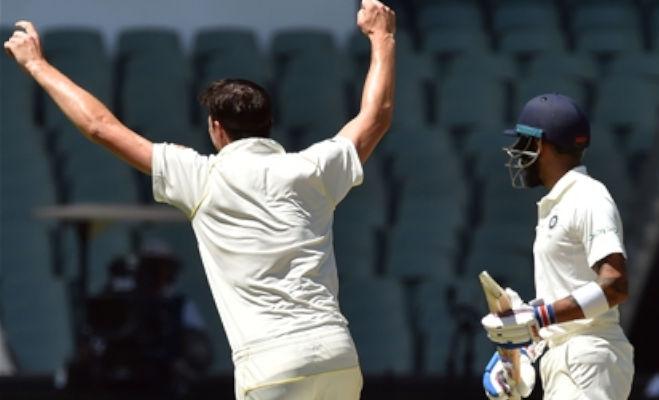 इस आॅस्ट्रेलियार्इ गेंदबाज के खिलाफ कोहली नहीं बना पाते रन,4 गेंदों में 2 बार हुए आउट