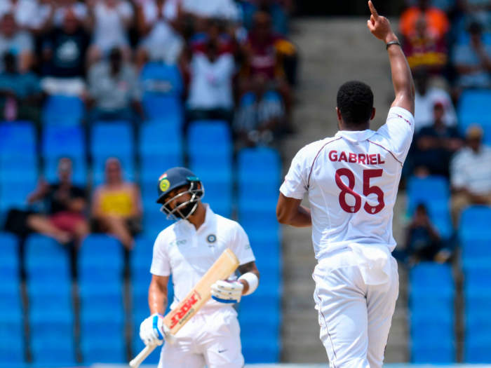 ind vs wi test : इस कैरेबियाई गेंदबाज के चलते खत्म हो सकता था विराट का टेस्ट करियर