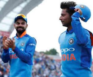 कुलदीप का जादुई स्पेल देखकर विराट बोले, वनडे में पहले कभी नहीं देखी ऐसी गेंदबाजी