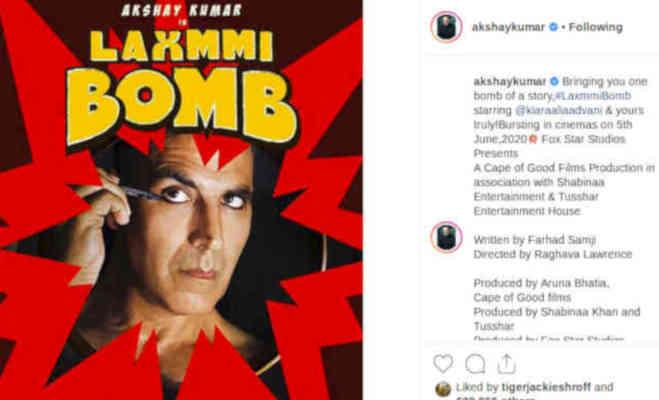 'लक्ष्मी बम' पर गिराया उसके डायरेक्टर ने बहुत बड़ा 'बम'