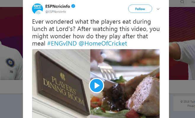 लॉर्ड्स में टीम इंडिया का खाना देख फैंस पूछ रहे,इसे खाने के बाद खेलते कैसे हो?