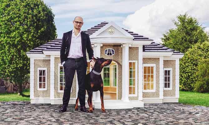 कुत्तों के ये आलीशान महल देखकर तो लोग कहेंगे,काश कि हम भी डॉगी होते