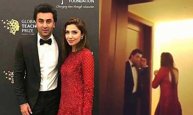 दुबई के होटल में रणबीर कपूर के सामने हाथ जोड़ती दिखाई दी यह पाकिस्तानी एक्ट्रेस