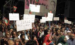 मालदीव संकट : संसद में शक्ति परीक्षण से पहले यामीन विरोधी सांसदों को सुप्रीम कोर्ट ने किया निलंबित