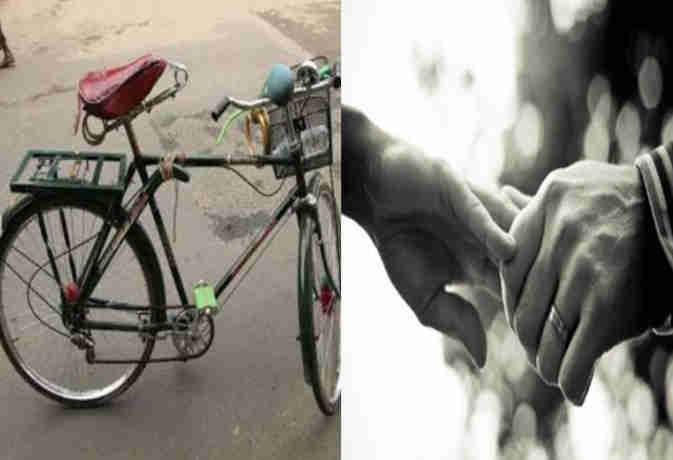 24 दिन में 600 किमी. साइकिल चलाकर युवक ने ढूंढी अपनी वैलेंटाइन, पत्नी प्रेम की दी मिसाल
