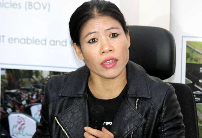 मैरीकॉम ने राष्ट्रीय पर्यवेक्षक के पद से दिया इस्तीफा