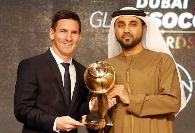 ग्लोब सॉकर अवॉर्ड : लियोन मेसी चुने गए साल के सर्वश्रेष्ठ खिलाड़ी